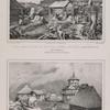Vue prise dans la colonie russe de Novo-Arkhngelsk.