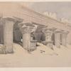 Portico of the Temple of Edfou [Idfû], Upper Egypt. Nov. 23rd, 1838.