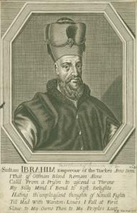 Sultan Ibrahim. [1640] Digital ID: 1264342. New York Public Library