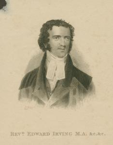Revd Edward Irving.