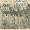 Irving's grave, Sleepy Hollow Cemetery.