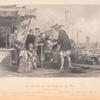 Cat merchants and tea dealers at Tong-Chow (The port of Peking)