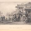 Canton bargemen fighting quails.