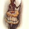 Masolo, jeune Bangongo, en costume de danse.