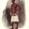 Femme du vice-roi des Bangongo, en costume de danse.