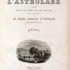 Voyage de la corvette l'Astrolabe... [Title page]