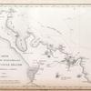 Carte de la partie septentrionale, de la Nouvelle Zélande par M.M. Durville et Lottin, 1831