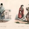 Femme de St. Croix de fenériffe, Femme de Gibralrar, Homme d'Algésiras.