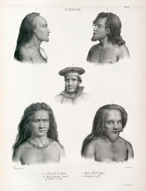 Portrait d'indigènes