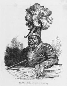Soldy, ancien roi de Porto-Novo.