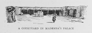 A courtyard in Mademba's palace.