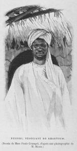 Derdiri, négociant de Khartoum.