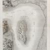 Île de Philæ. Plan général de l'île et de ses environs.