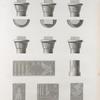 Environs d'Esné [Isnâ] (Latopolis). Détails d'architecture et bas-reliefs du temple au nord d'Esné.