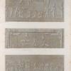 Erment [Armant] (Hermonthis). Bas-reliefs sculptés dans le sanctuaire du temple.