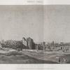 Thèbes. Karnak. Vue générale des ruines du palais, prise du nord-ouest.