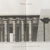 Thèbes. Karnak. 1-3. Deuxième partie de la coupe longitudinale du palais.