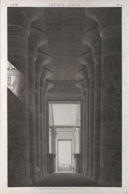 This is What Temple of Amon Looked Like  in 1812
