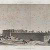 Denderah [Dandara] (Tentyris). Vue générale des ruines prise de l'ouest.