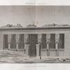 Denderah [Dandara] (Tentyris). Vue de la façade du Grand Temple.
