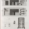 Denderah [Dandara] (Tentyris). Plan et coupes transversales du Grand Temple.