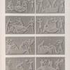 Syout [Asyût] (Lycopolis). Bas-reliefs recueillis dans la salle du fond de l'hypogée principal.
