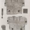 Memphis et environs. Détails d'une tunique trouvée dans un des tombeaux de Saqqârah.