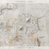 Pyramides de Memphis. Plan topographique des pyramides et des environs.
