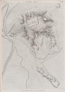 Tanis (Sân). Plan des ruines et des environs.