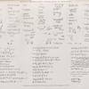 Papyrus, hiéroglyphes, inscriptions et médailles. Différentes inscriptions recueillies sur la route du Mont-Sinaï.