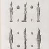Collection d'antiques. 1-6. Figures en bronze; 7.8. en serpentine; 9-14. en terre cuite.