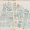 Plate 6: Map bounded by City Hall Square, Frankfort Street, Gold Street, Maiden Lane, Broadway, Park Row]