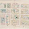 Plate 19: Map bounded by Hamersley Street, Varick Street, Spring Street, West Street]