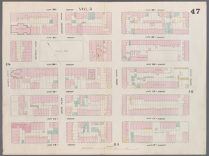 [Plate 47: Map bounded by East 22nd Street, Second Avenue, East 17th Street, Fourth Avenue.]