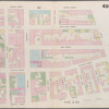 [Plate 49: Map bounded by 4th Street, Bowery, Houston Street, Green Street.]