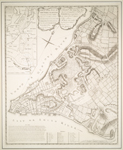 A plan of the city of New-York & its environs : to Greenwich, on the North or Hudsons River, and to Crown Point, on the East or Sound River, shewing the several streets, publick buildings, docks, fort & battery, with the true form & course of the commanding grounds, with and without the town : survey'd in the winter, 1775 [i.e. 1766]