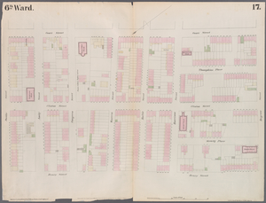 [Plate 17: Map bounded by Atlantic Street, Court Street, Degraw Street, Henry Street.]