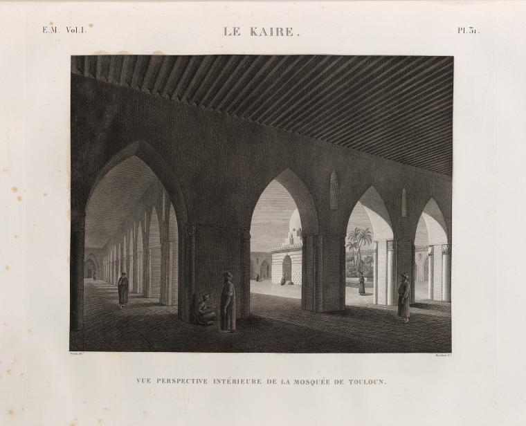 Fascinating Historical Picture of Jami` Ibn T�l�n in 1809