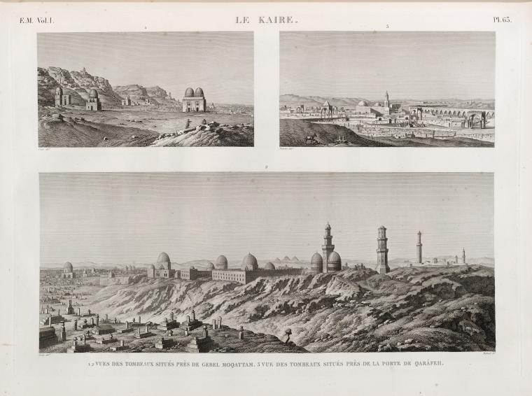 Fascinating Historical Picture of Northern Cemetery in 1809