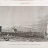 Alexandrie [Alexandria]. Vue du Port Neuf, prise cimetière, qui le sépare du Port Vieux.