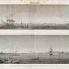 Alexandrie [Alexandria]. 1. Vue du Port Neuf prise en mer du côté du nord; 2. Vue du Port Vieux prise en rade du côté du sud-ouest.