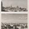 Alexandrie [Alexandria]. 1. Vue de la place des tombeaux; 2. Vue des terrasses d'une partie de la ville.