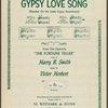 Gypsy love song