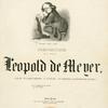 ... Leopold de Meyer...