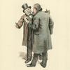 Le Cid, l'opéra. Gounod et Massenet a la répétition générale-1885.