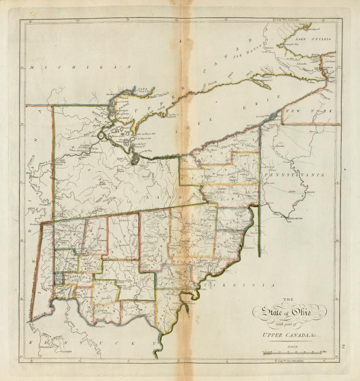 The State of Ohio, with part of Upper Canada, &c.