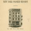 Report of the New York Colored Mission: 1876