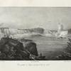Vue générale du Niagara prise dans le bas du canal.