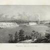 Vue genérale du Niagara prise du côté du Canada.
