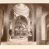 [Interior view of the Church of the Holy Ascension at the Mount of Olives Convent of the Russian Orthodox Church.]